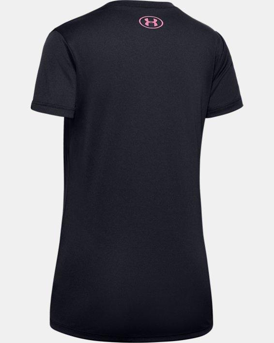 Girls' UA Dance Short Sleeve T-Shirt, Black, pdpMainDesktop image number 1