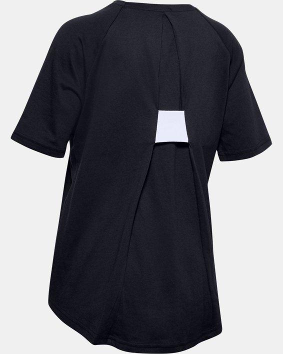 Girls' UA Infinity Short Sleeve, Black, pdpMainDesktop image number 1