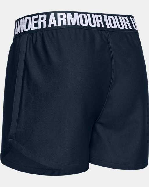 Girls' UA Play Up Americana Shorts