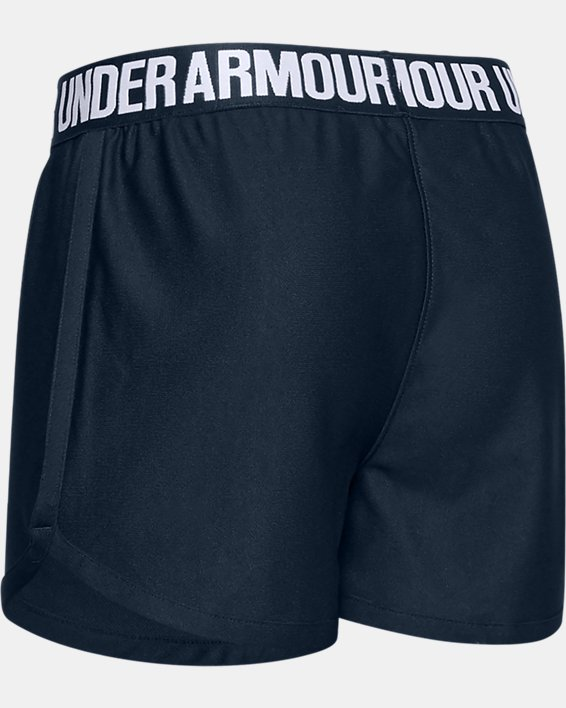 Girls' UA Play Up Americana Shorts, Navy, pdpMainDesktop image number 1