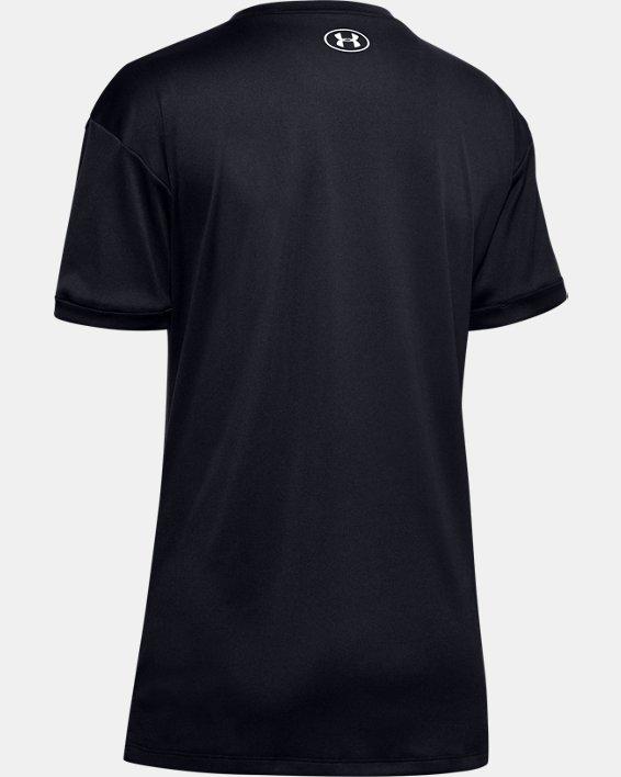 Women's UA Performance Graphic T-Shirt, Black, pdpMainDesktop image number 5