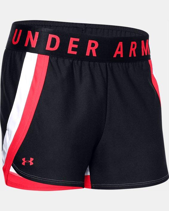 Women's UA Play Up 3.0 Shorts, Black, pdpMainDesktop image number 4