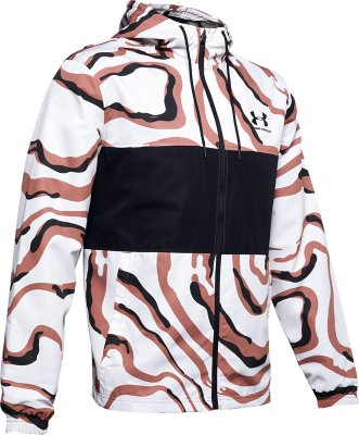 Under Armour Mens Sportstyle Wind Graphic Jacket Mens Jacket