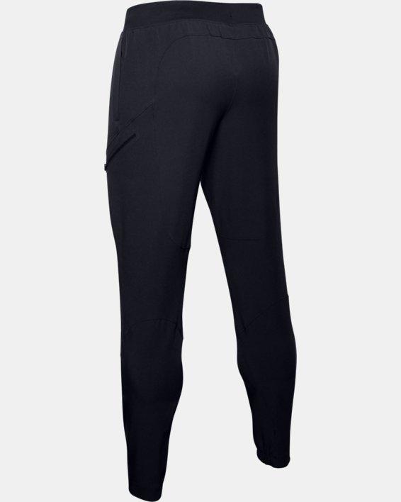 Pantalon cargo UA Flex Woven pour homme, Black, pdpMainDesktop image number 5