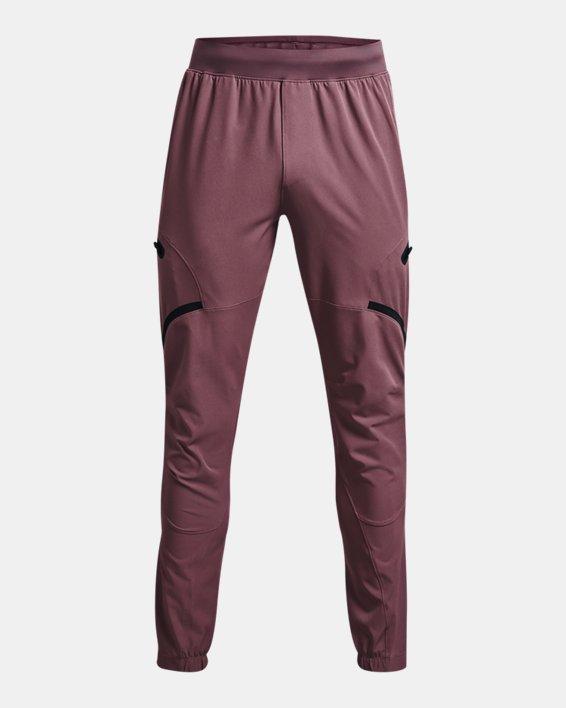 Men's UA Unstoppable Cargo Pants, Purple, pdpMainDesktop image number 5