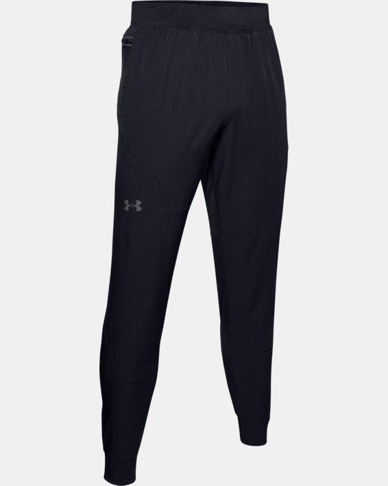 Pantalon de jogging UA Flex Woven pour homme, Black, pdpMainDesktop image number 4