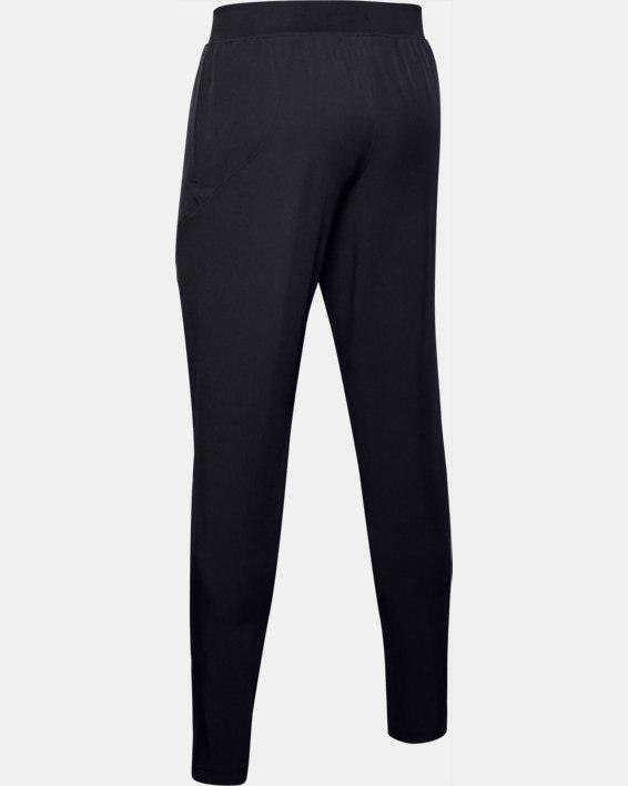 Men's UA Flex Woven Tapered Pants, Black, pdpMainDesktop image number 4