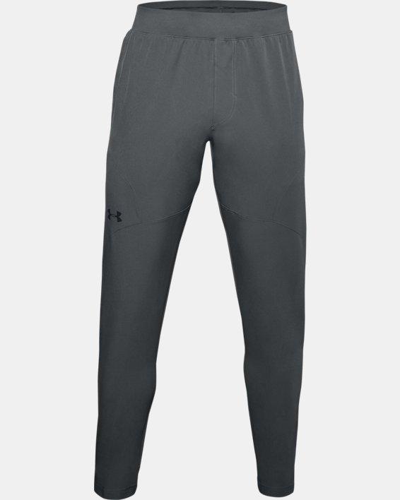 Pantalón ajustado UA Unstoppable para hombre, Gray, pdpMainDesktop image number 4