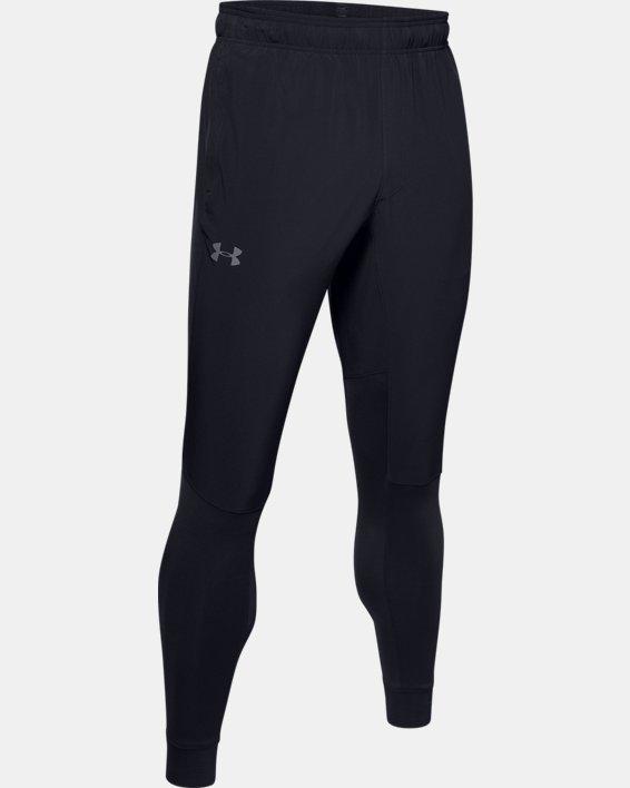 Pantalon UA Hybrid pour homme, Black, pdpMainDesktop image number 4