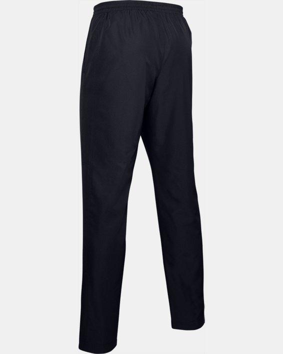 Men's UA Vital Woven Pants, Black, pdpMainDesktop image number 4
