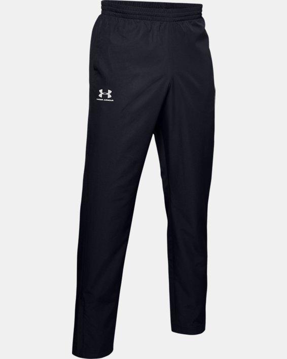 Men's UA Vital Woven Pants, Black, pdpMainDesktop image number 3