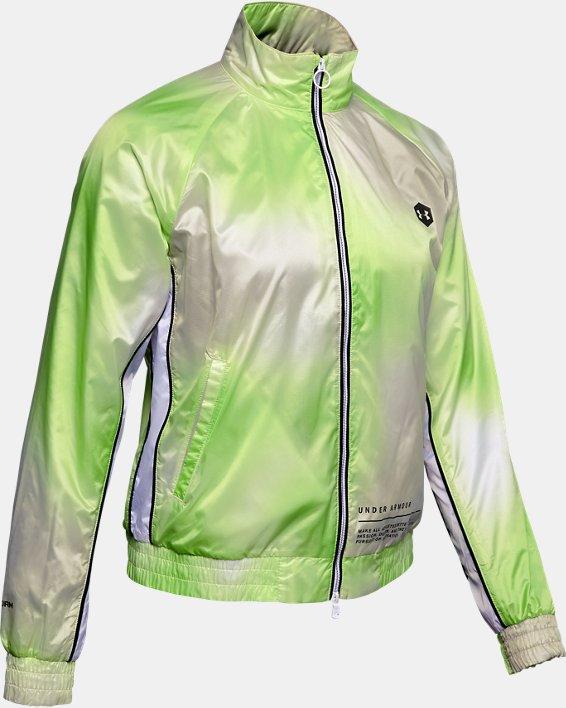 Women's UA Always On Recover Track Jacket, White, pdpMainDesktop image number 3