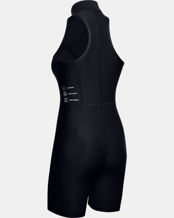 Women's UA Always On Body Suit, Black, pdpMainDesktop image number 4