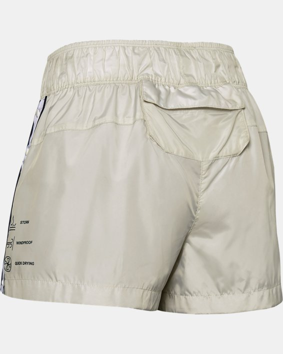 Women's UA Always On Recover Shorts, White, pdpMainDesktop image number 5