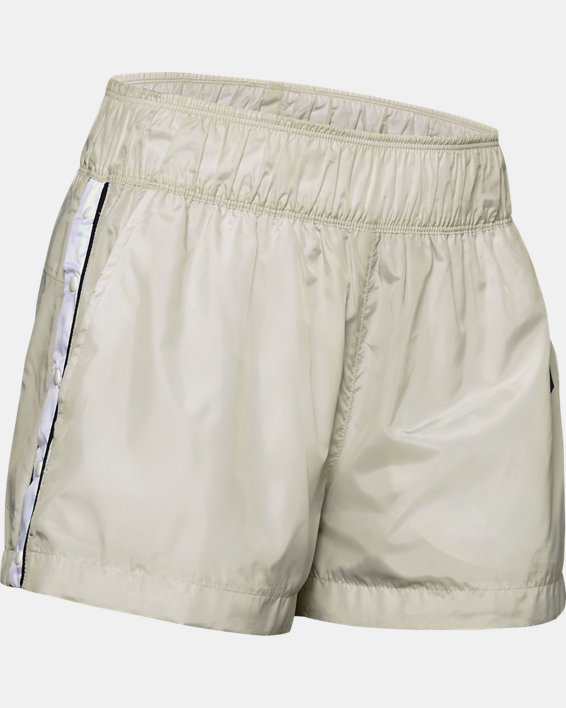 Women's UA Always On Recover Shorts, White, pdpMainDesktop image number 4