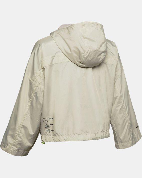 Women's UA Always On Recover Anorak Jacket, White, pdpMainDesktop image number 4