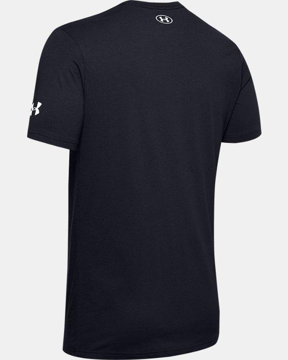 Men's UA Protect Bold Short Sleeve, Black, pdpMainDesktop image number 5