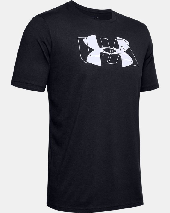 Men's UA Over Under Originators Short Sleeve, Black, pdpMainDesktop image number 4