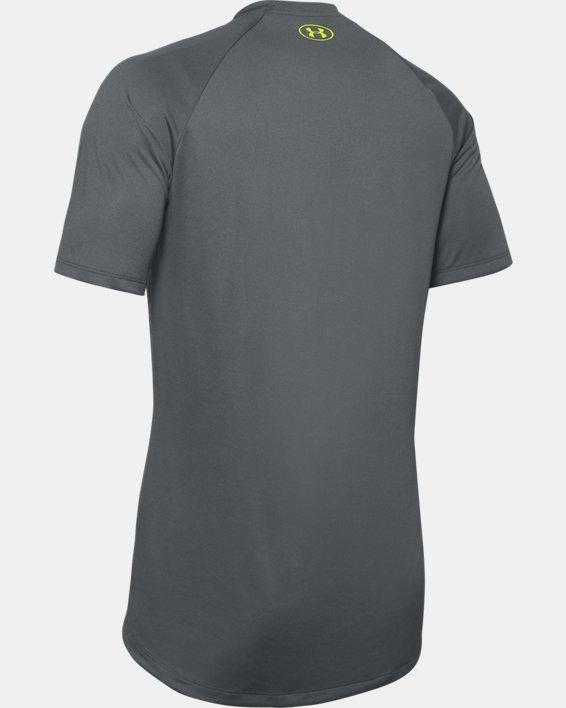 Men's UA Tech™ 2.0 Graphic Short Sleeve, Gray, pdpMainDesktop image number 5