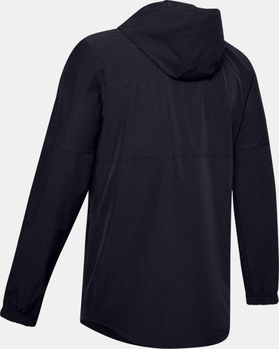 Men's UA Training Woven Jacket, Black, pdpMainDesktop image number 5