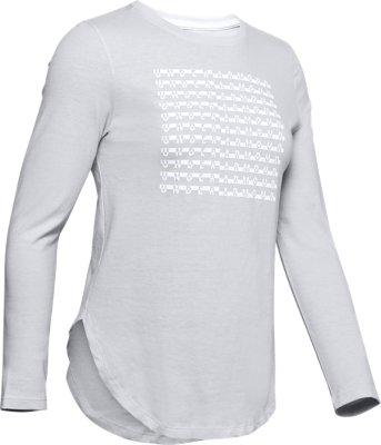 Under Armour Women/'s UA Studio Flow Long Sleeve Yoga Gym Shirt 1250211