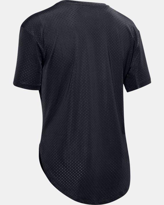 Women's UA Armour Sport Short Sleeve, Black, pdpMainDesktop image number 5