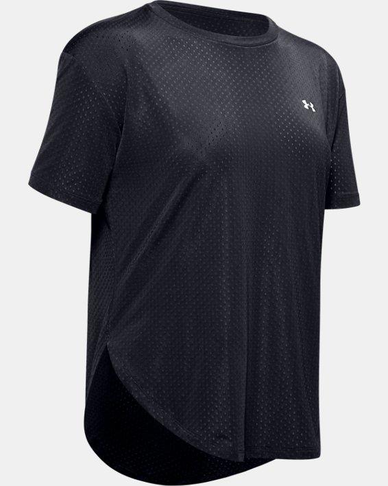 Women's UA Armour Sport Short Sleeve, Black, pdpMainDesktop image number 4