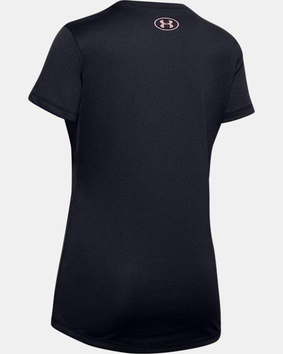 Girls' UA Soccer Graphic T-Shirt, Black, pdpMainDesktop image number 1