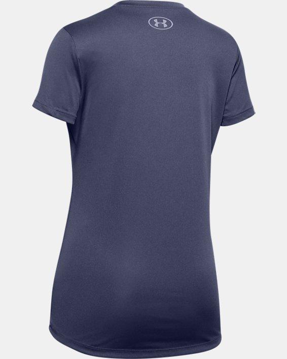 Girls' UA Soccer Graphic T-Shirt, Blue, pdpMainDesktop image number 1