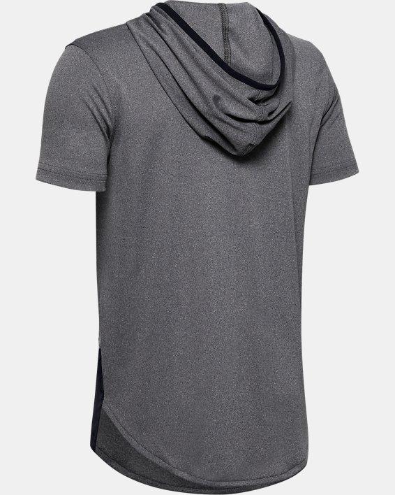 Boys' UA Velocity Short Sleeve Hoodie, Misc/Assorted, pdpMainDesktop image number 1