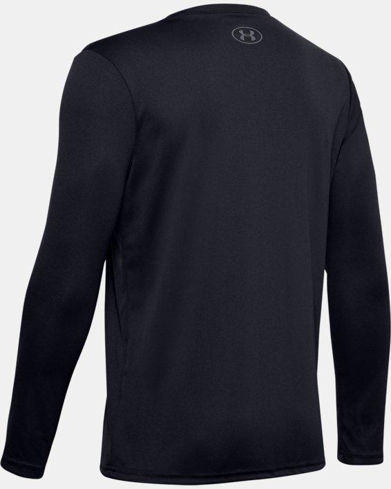Boys' UA Velocity Graphic Long Sleeve, Black, pdpMainDesktop image number 1