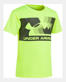 871e3278e6 Boys' Yellow Toddler (Size 2T-4T) Tops   Under Armour US