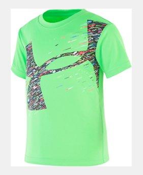 e90b4edf7 New Arrival Boys' Toddler UA Splice Fast Logo Short Sleeve 1 Color Available  $18