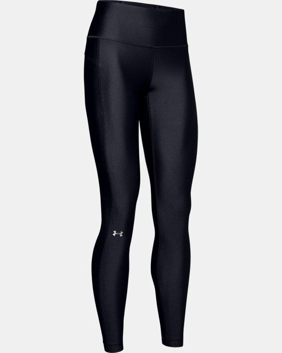 Women's HeatGear® Armour Hi-Rise Leggings, Black, pdpMainDesktop image number 4