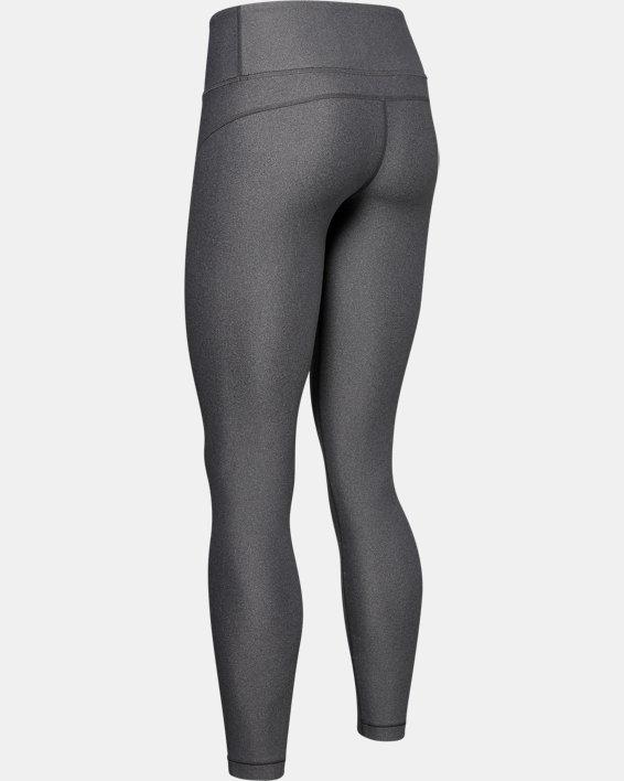 Women's HeatGear® Armour Hi-Rise Leggings, Gray, pdpMainDesktop image number 5
