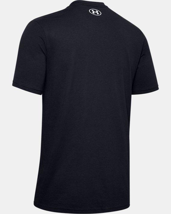 Men's UA FTBL Branded Speed T-Shirt, Black, pdpMainDesktop image number 5