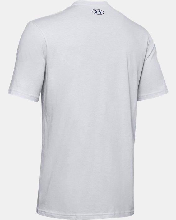 Men's UA FTBL Branded Speed T-Shirt, Gray, pdpMainDesktop image number 5