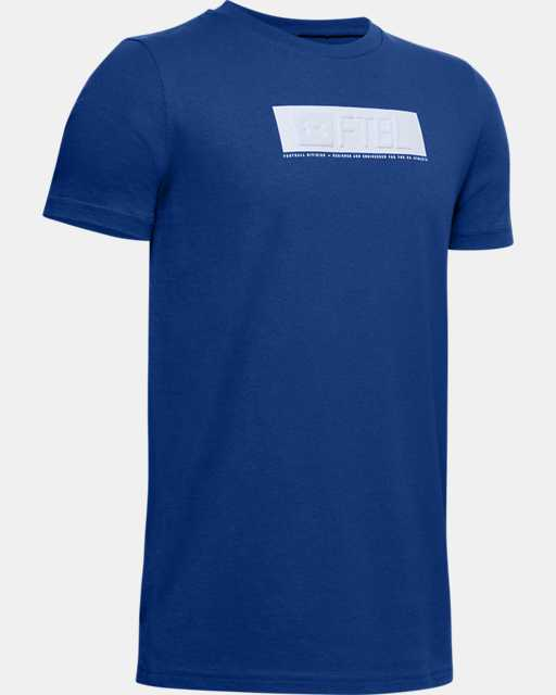 Boys' UA FTBL Branded Stack T-Shirt