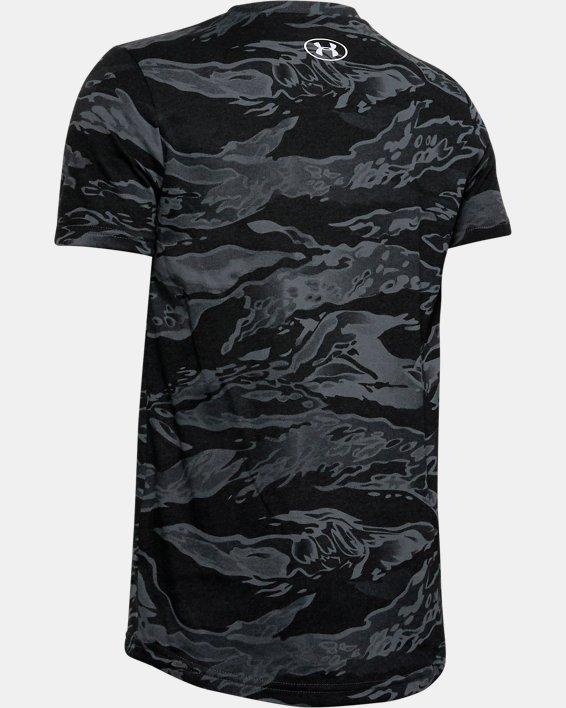 Boys' UA Camo Yards T-Shirt, Gray, pdpMainDesktop image number 1