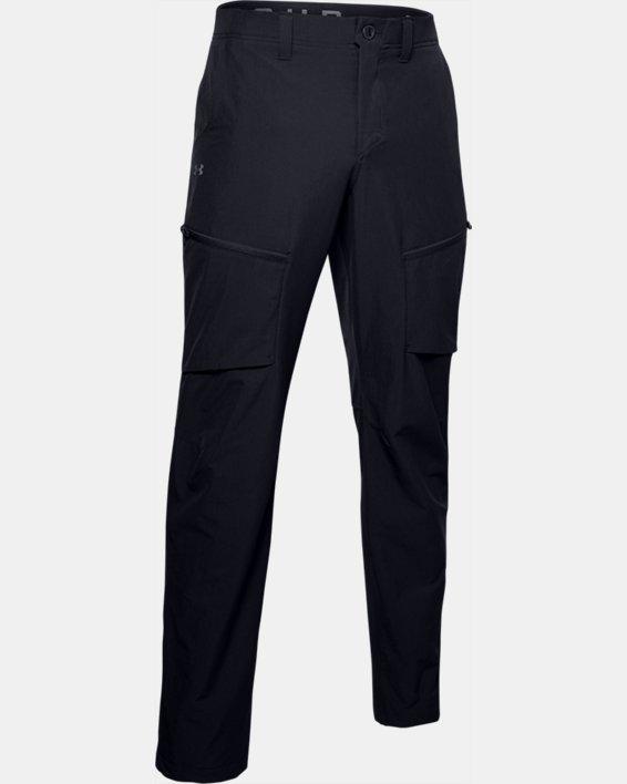 Men's UA Canyon Cargo Pants, Black, pdpMainDesktop image number 4