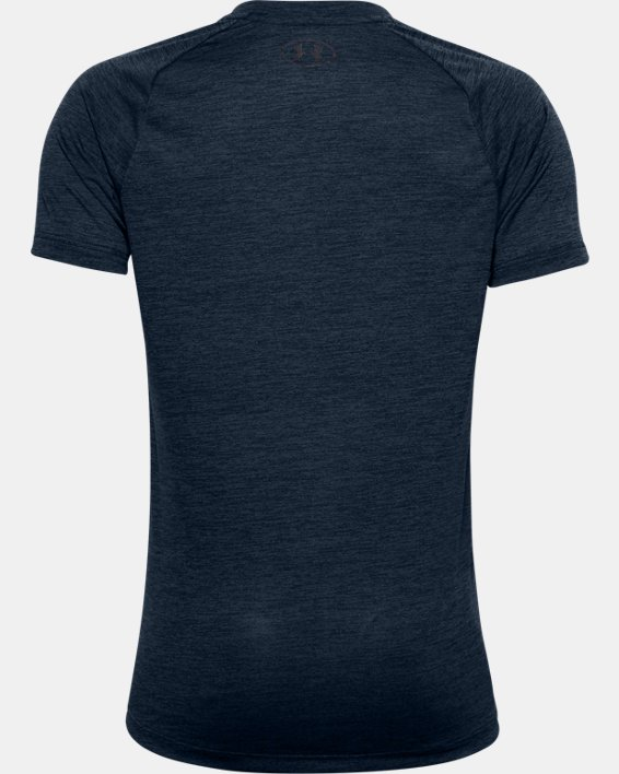 Boys' UA Tech™ 2.0 T-Shirt, Navy, pdpMainDesktop image number 1