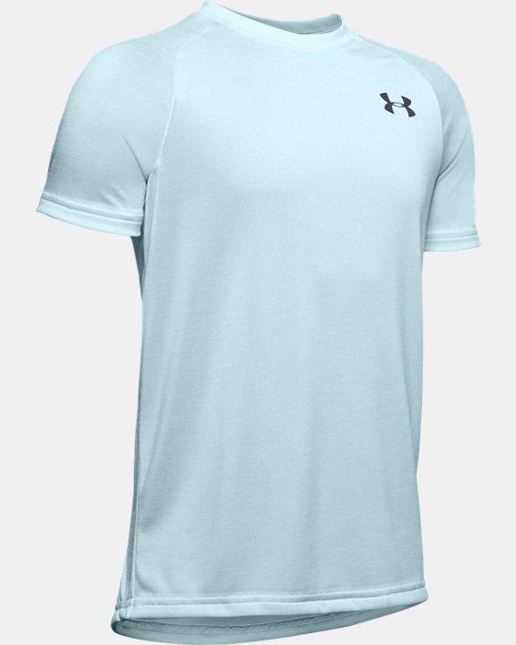 Boys' UA Tech™ 2.0 T-Shirt, Blue, pdpMainDesktop image number 0