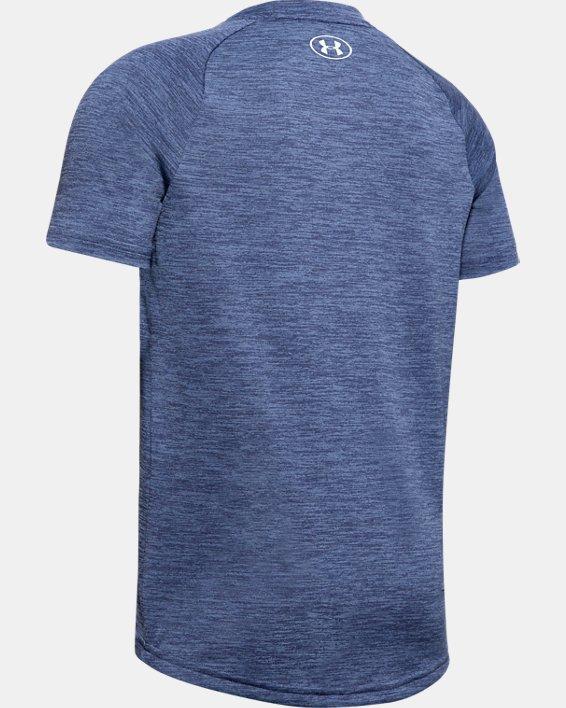 Boys' UA Tech™ 2.0 T-Shirt, Blue, pdpMainDesktop image number 1