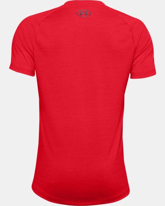 Boys' UA Tech™ 2.0 T-Shirt, Red, pdpMainDesktop image number 1