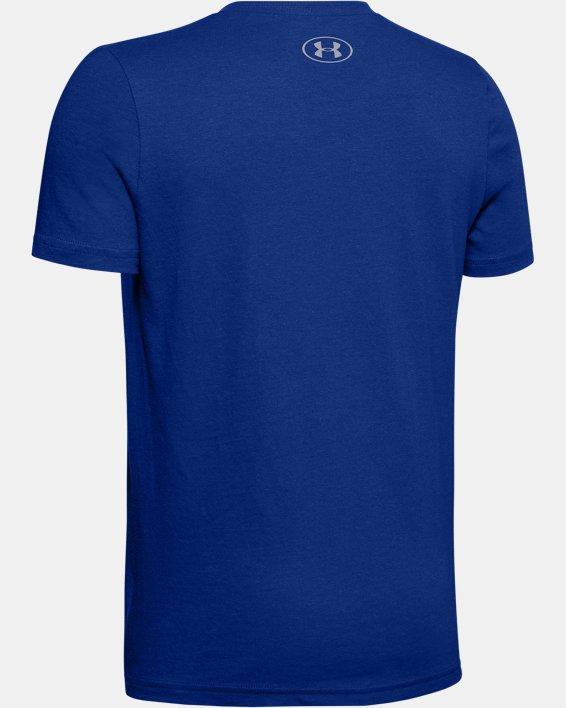 UA BASEBALL BIG LOGO, Blue, pdpMainDesktop image number 1