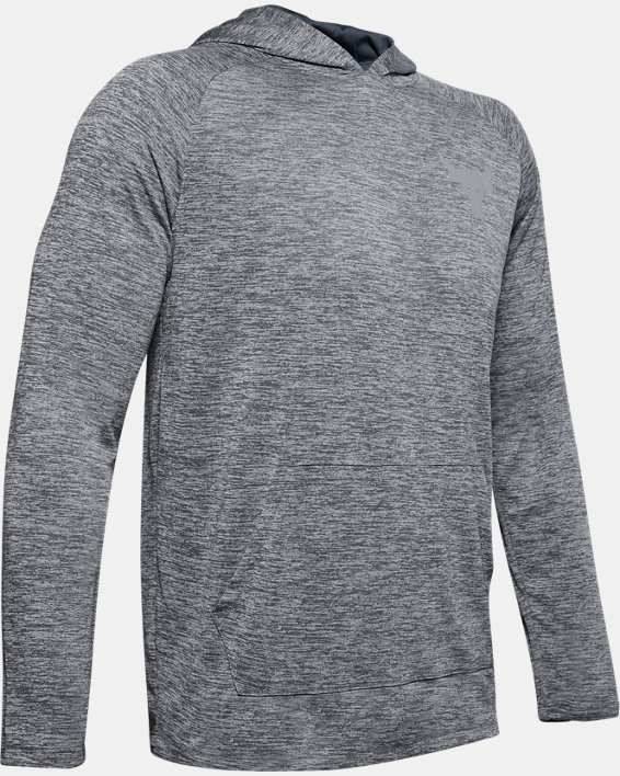 Men's Project Rock UA Tech™ 2.0 Hoodie, Gray, pdpMainDesktop image number 4