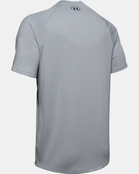 Men's UA Tech™ 2.0 Morph FS Print Short Sleeve, Gray, pdpMainDesktop image number 5