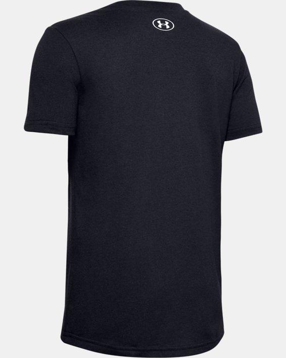 Boys' UA SqUAd Up Short Sleeve, Black, pdpMainDesktop image number 1