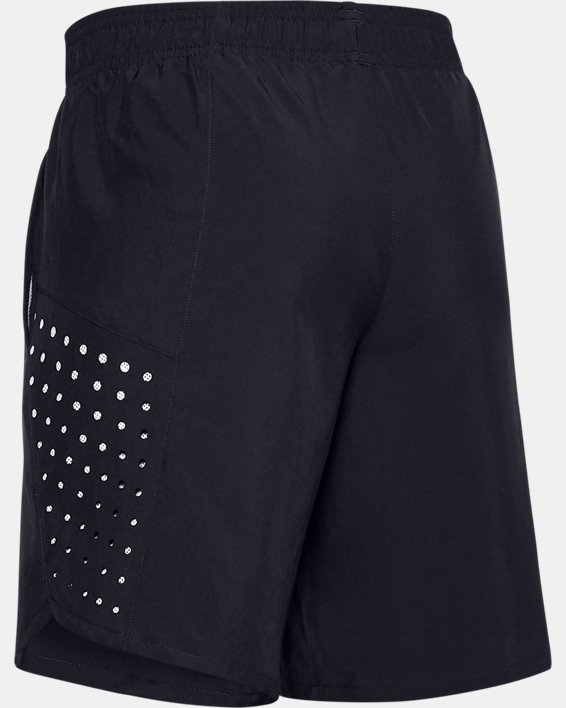 Boys' UA X-Level Woven Shorts, Black, pdpMainDesktop image number 1