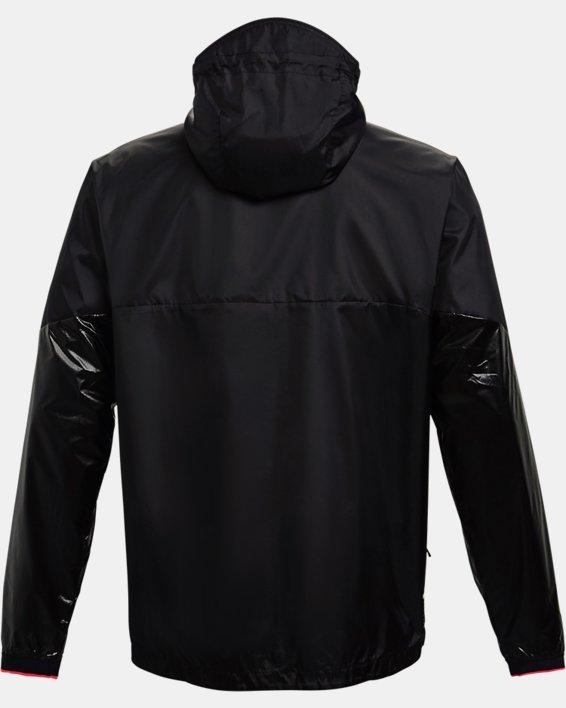 Men's UA RUSH™ Legacy Windbreaker Jacket, Black, pdpMainDesktop image number 5